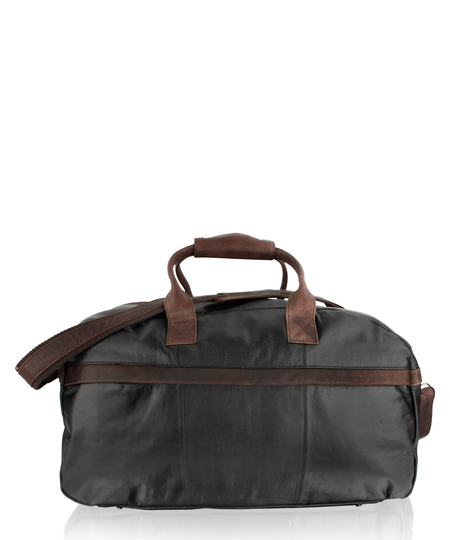 Brown leather holdall  Sale - woodland leathers