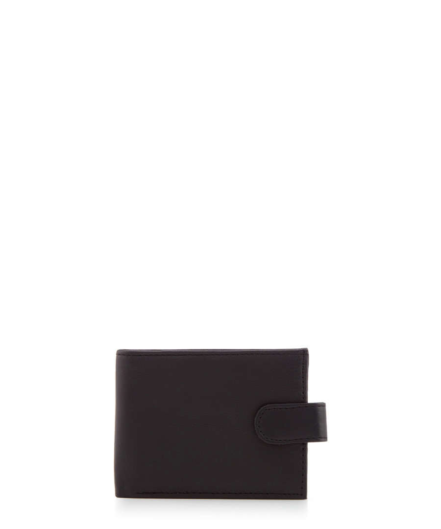 Black leather wallet Sale - woodland leathers