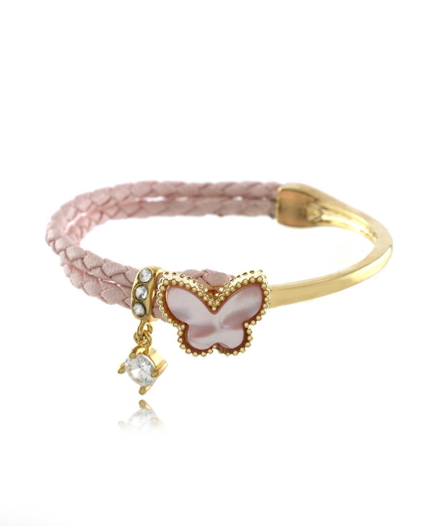 16ct gold-plated butterfly bracelet Sale - fleur envy