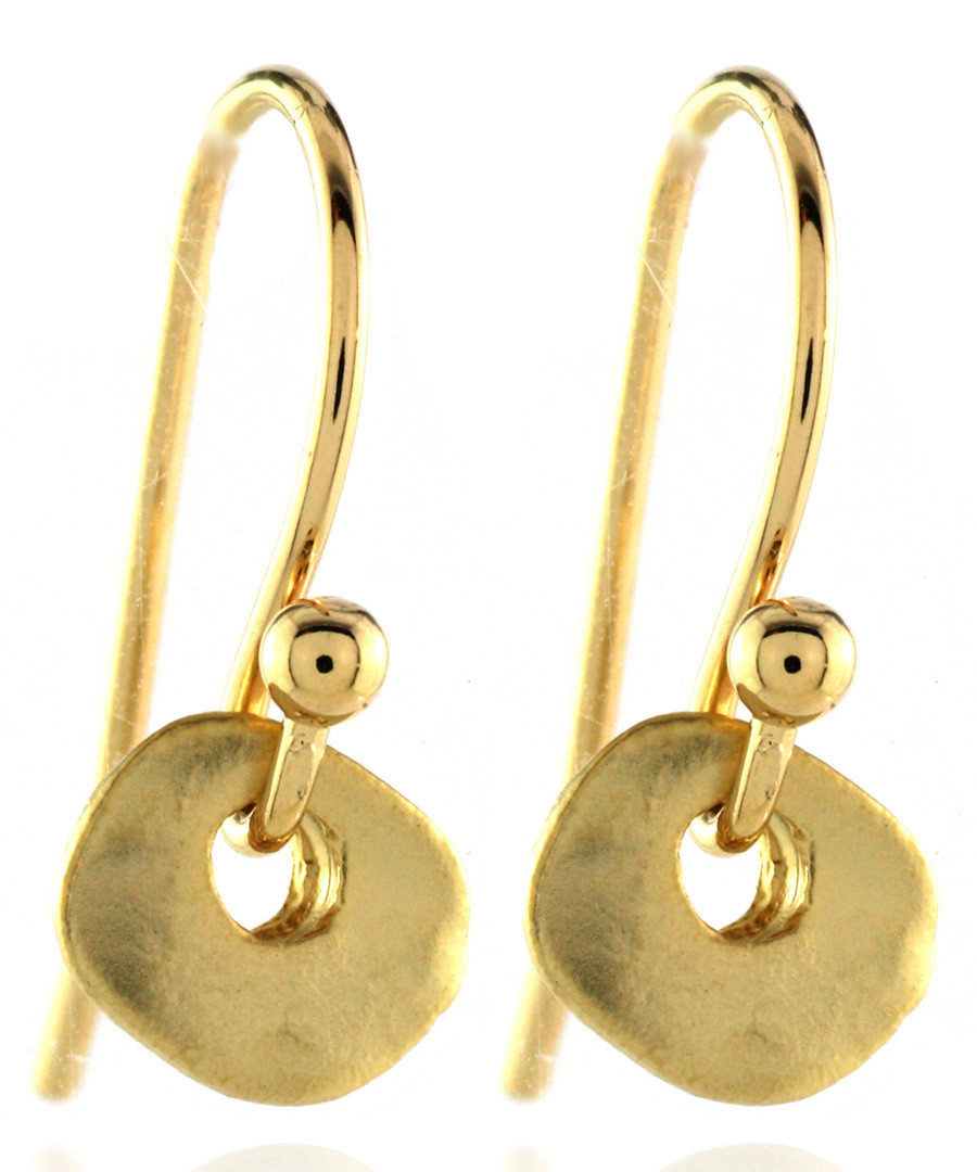 14ct gold-plated ornate earrings Sale - fleur envy gaia