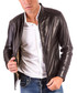 Black leather zip up jacket Sale - ad milano Sale