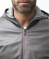 Grey leather hooded jacket Sale - ad milano Sale