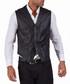 Black lambskin waistcoat Sale - ad milano Sale