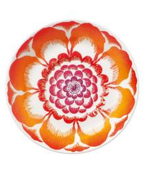 White porcelain flower saucer 12cm