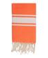St Tropez orange cotton fouta towel Sale - FEBRONIE Sale
