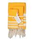 3pc Hamptons yellow cotton towel set Sale - FEBRONIE Sale