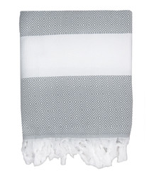 Courchevel pearl cotton fouta towel