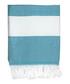 Courchevel duck blue cotton fouta towel Sale - FEBRONIE Sale