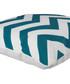 Ecru & green zigzag cushion cover 50cm Sale - FEBRONIE Sale