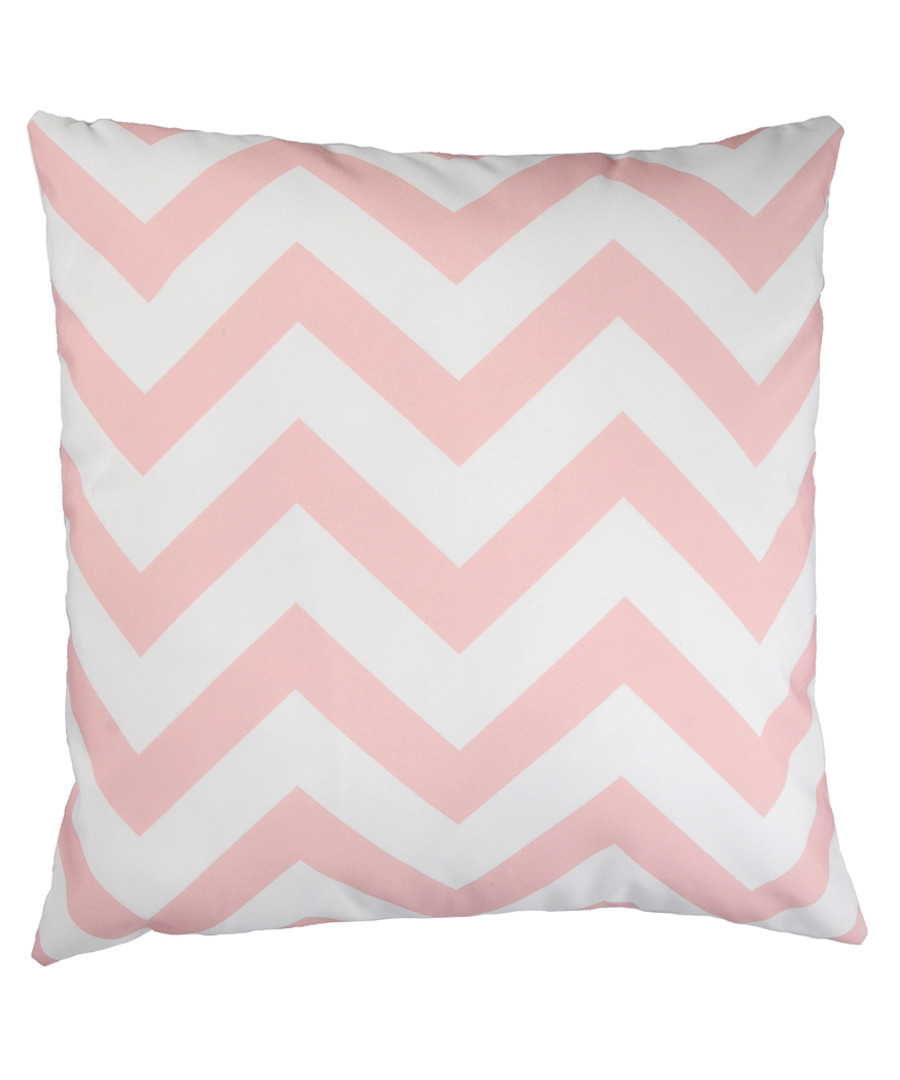 Ecru & pale rose cushion cover 50cm Sale - FEBRONIE