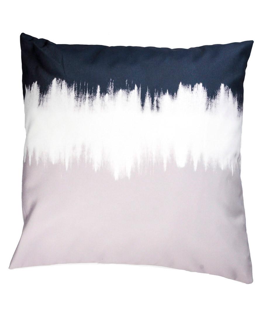 Pearl grey tie die cushion cover 50cm Sale - FEBRONIE