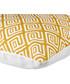 Ecru & mustard geo cushion cover 50cm Sale - FEBRONIE Sale