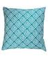 Ecru & green geo cushion cover 50cm Sale - FEBRONIE Sale