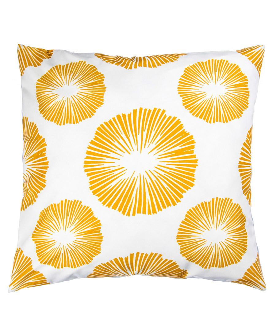 Ecru & mustard urchin cushion cover 50cm Sale - FEBRONIE