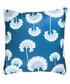 Petrol blue fan cushion cover 50cm Sale - FEBRONIE Sale