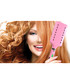 Pink hairbrush straighteners Sale - Hollywood Hair Sale