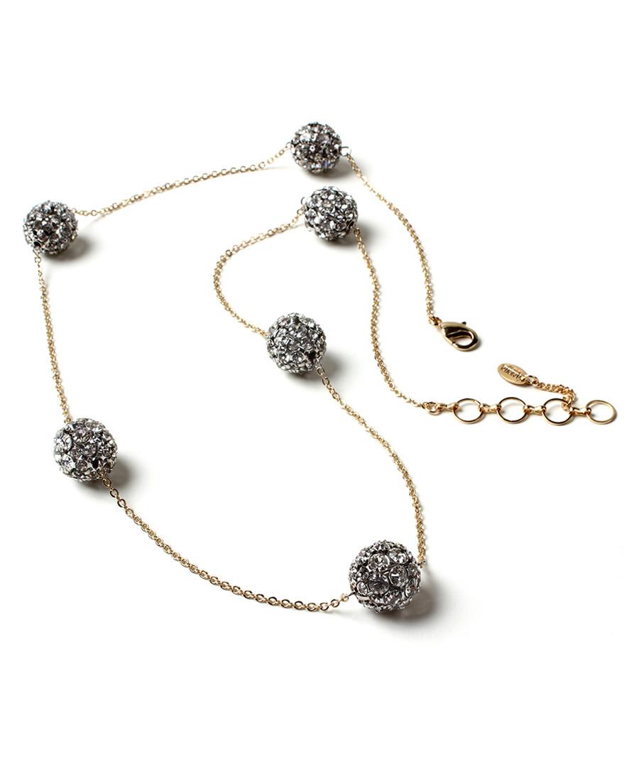 Crystal Ball Station Necklace Sale - amrita singh