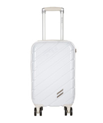 Auteuil white spinner suitcase 30cm