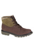 Men's olive leather ankle boots Sale - Caterpillar Sale