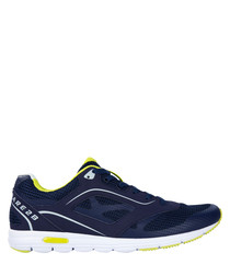 Men's Powerset navy graphic sneakers