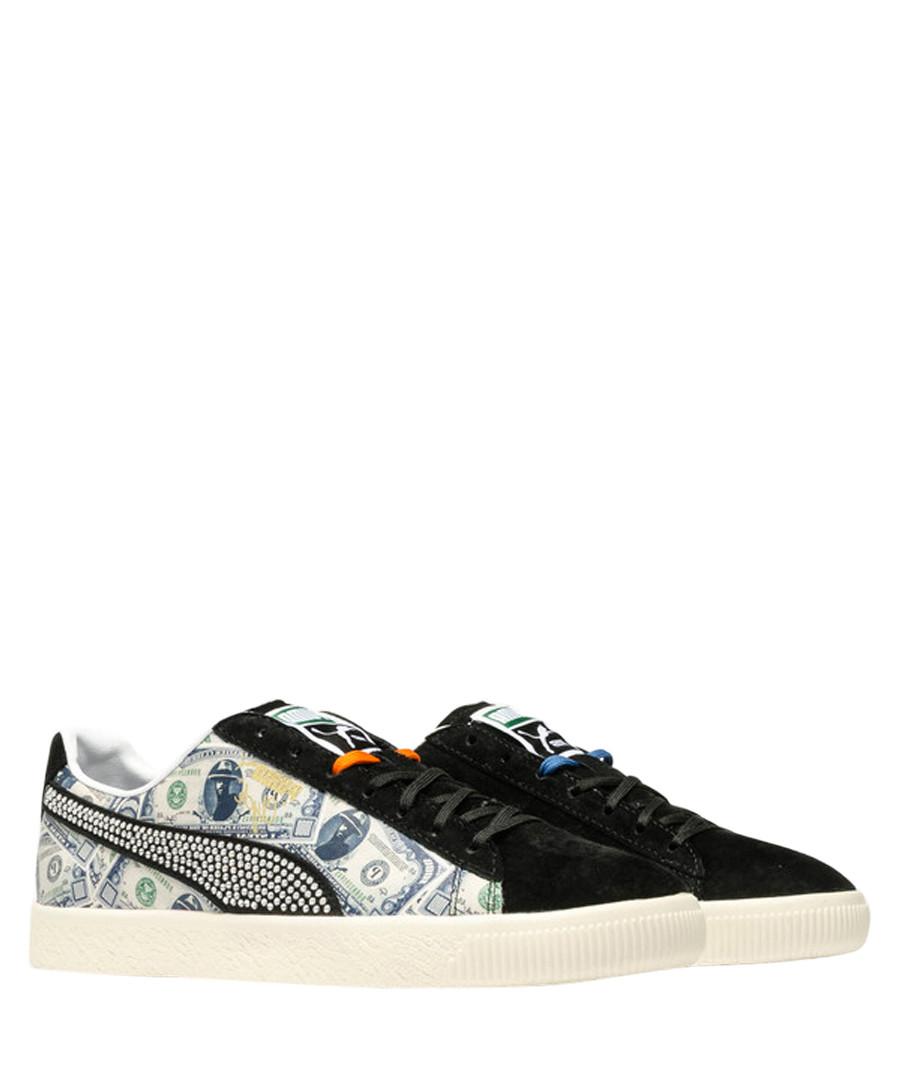 Clyde X black suede sneakers Sale - puma