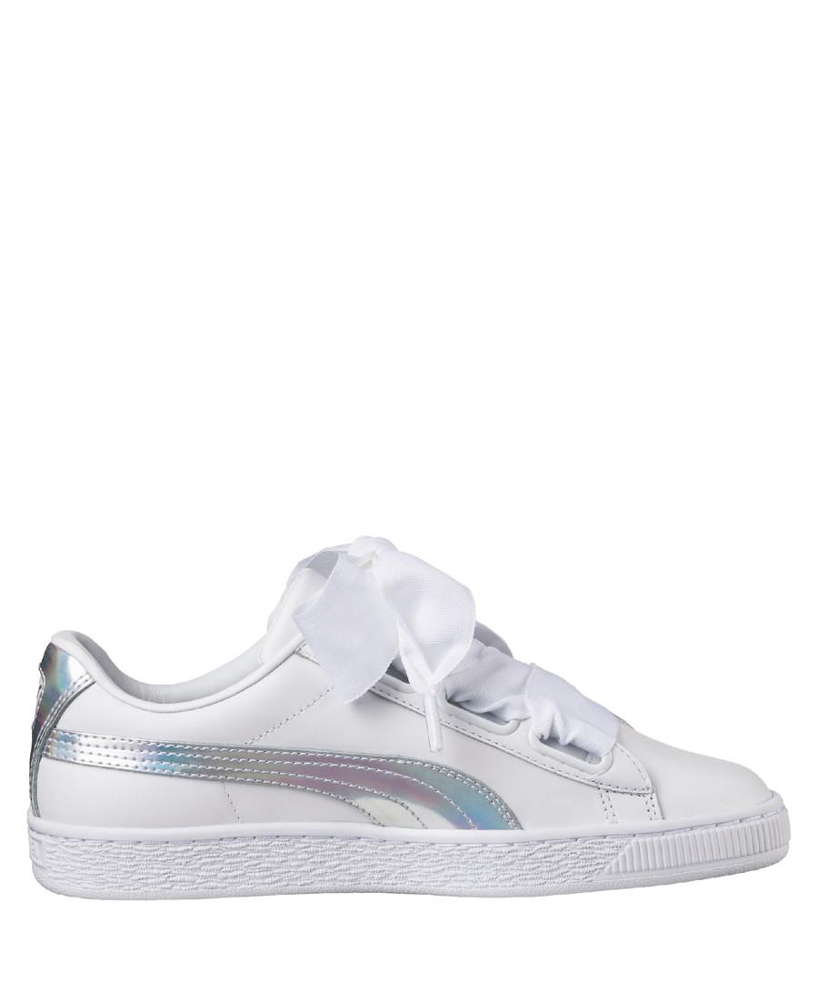 Basket Heart white suede sneakers Sale - PUMA
