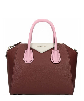 48347fcd91 Antigona Small burgundy leather bag Sale - Givenchy Sale
