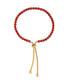 18ct gold-plated & red crystal bracelet Sale - liv oliver Sale