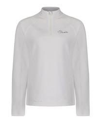 Cloud white long sleeve light jumper