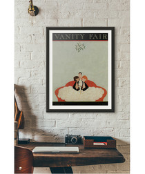 1921 December Vanity Fair framed print