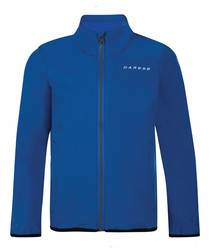 Derive blue zip up fleece jacket