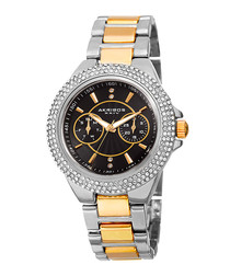 Silver & gold-tone steel watch