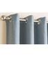2pc blue thermal curtains 168cm x 137cm Sale - Enhanced Living Sale