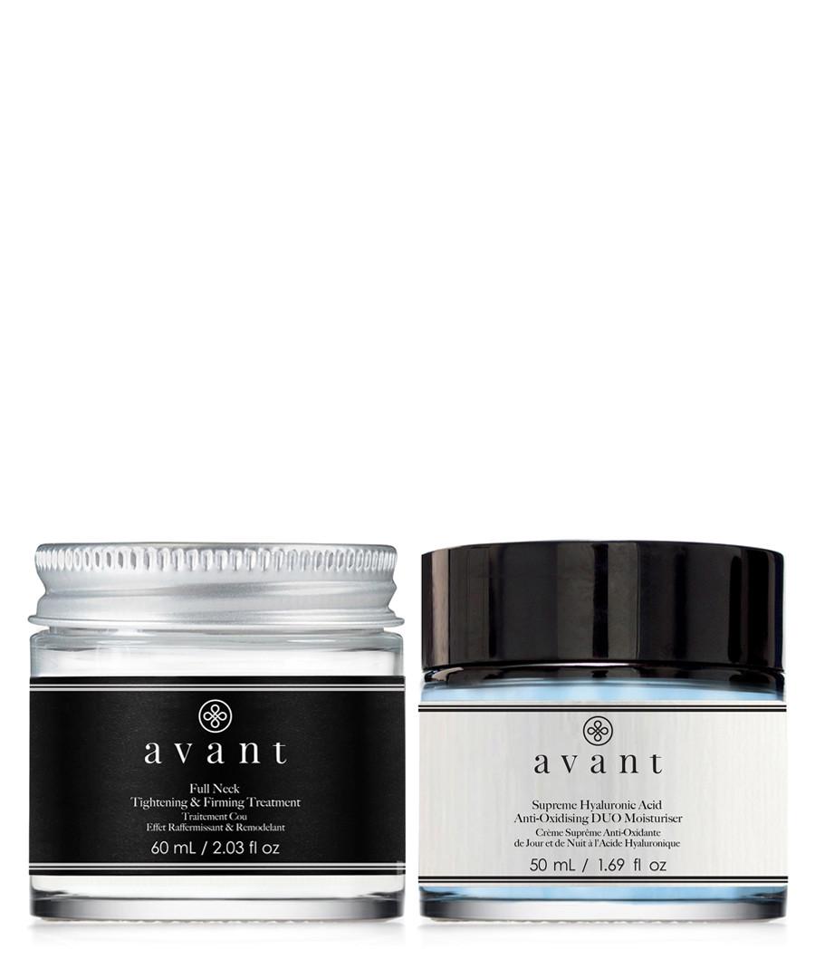2pc Neck firming & moisturiser set Sale - avant skincare