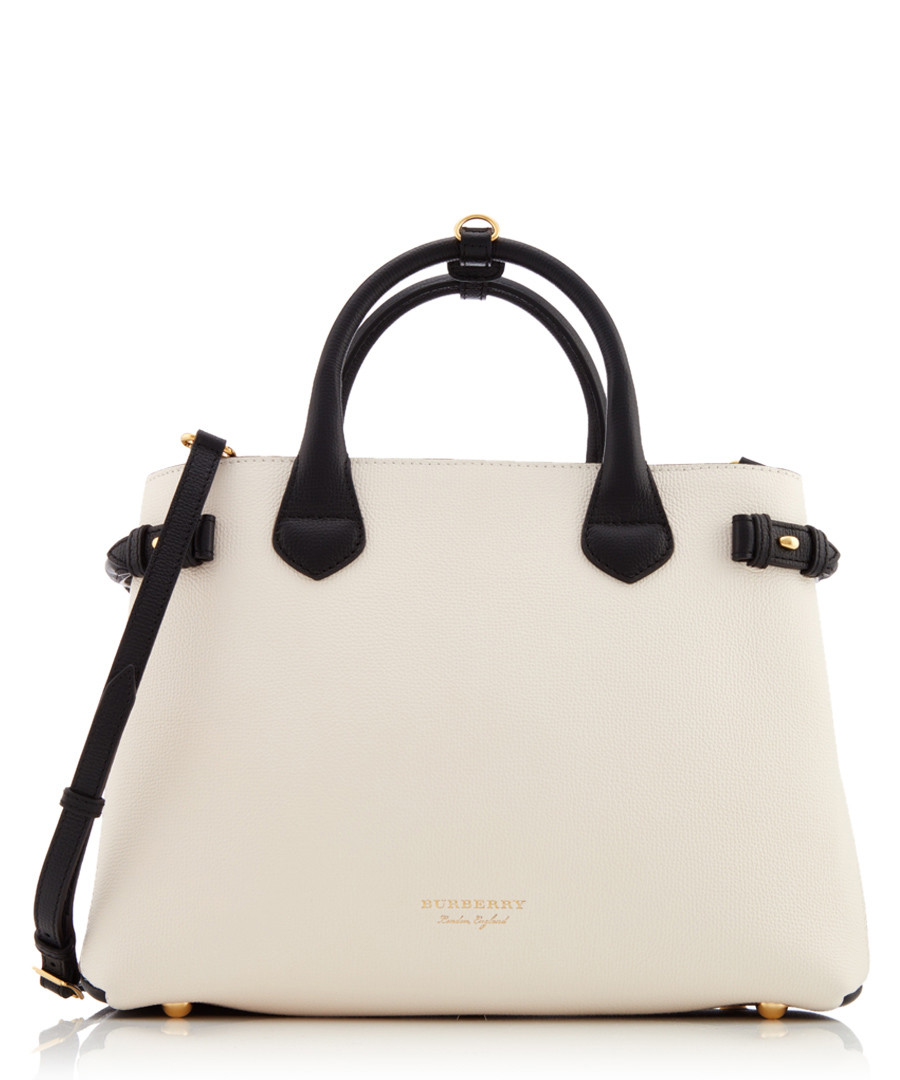 Discount Cream   black leather grab bag   SECRETSALES 0815fb83f6