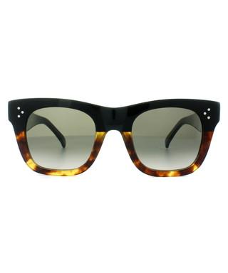7ea57f33ce Catherine Small Havana square sunglasses Sale - Céline Sale