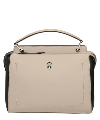 507fb040b546 Dot Com Large grey leather grab bag Sale - Fendi Sale