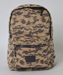 Disrupt camouflage print backpack