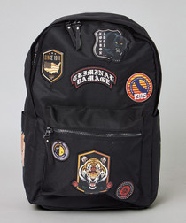 Shield black patch backpack