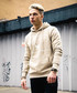 Nude pure cotton logo hoodie Sale - devote Sale