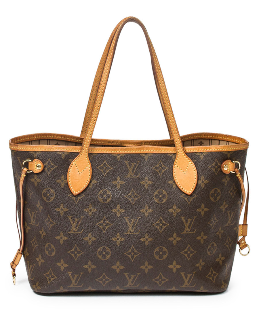 ebb099d58348 Neverfull brown   tan monogram bag Sale - vintage louis vuitton