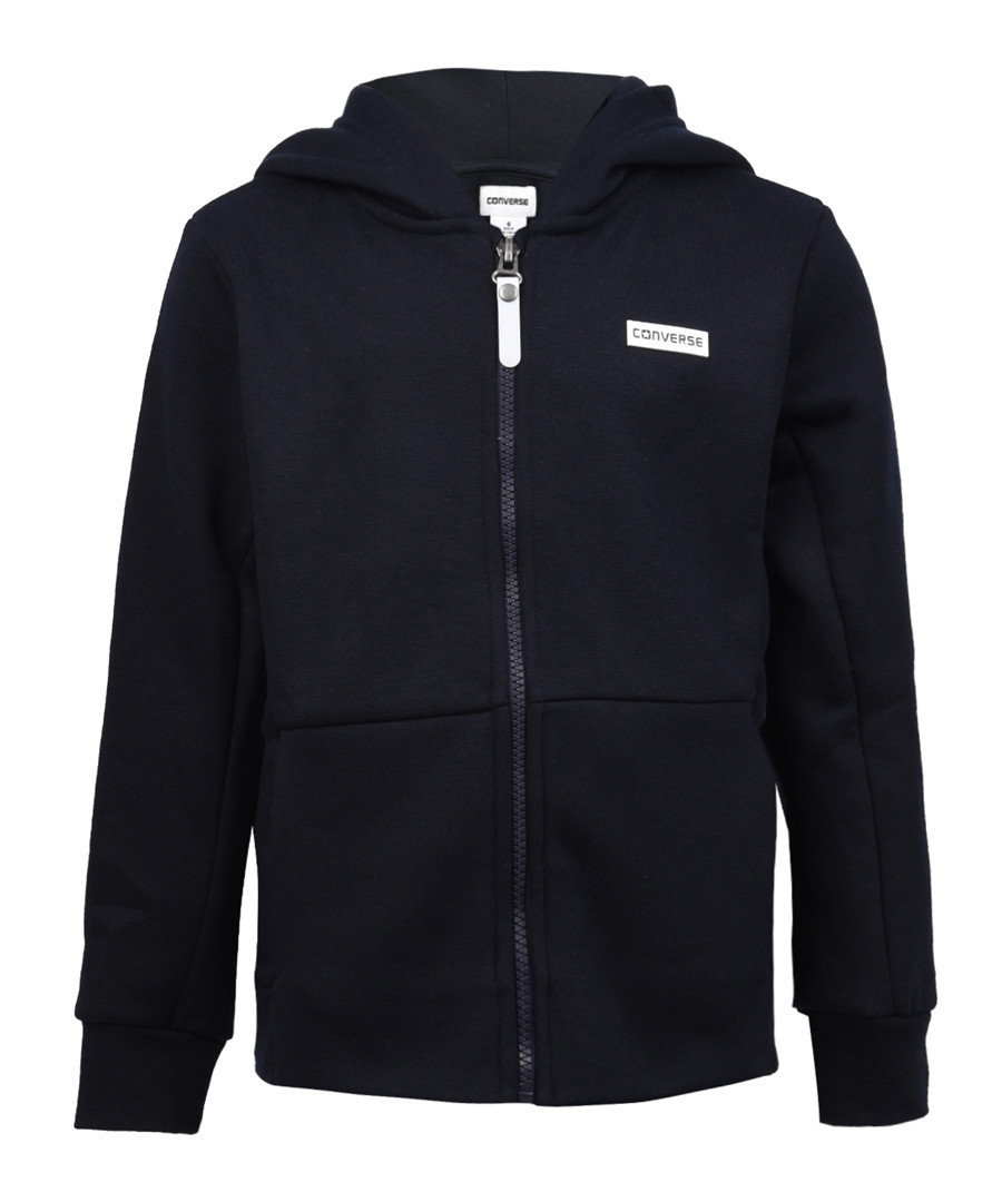 Boy's 2-15yrs navy zipped hoodie Sale - Converse