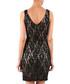 Black lace sleeveless mini dress Sale - zibi london Sale