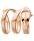 Rose gold-plated serpent watch Sale - JUST CAVALLI Sale