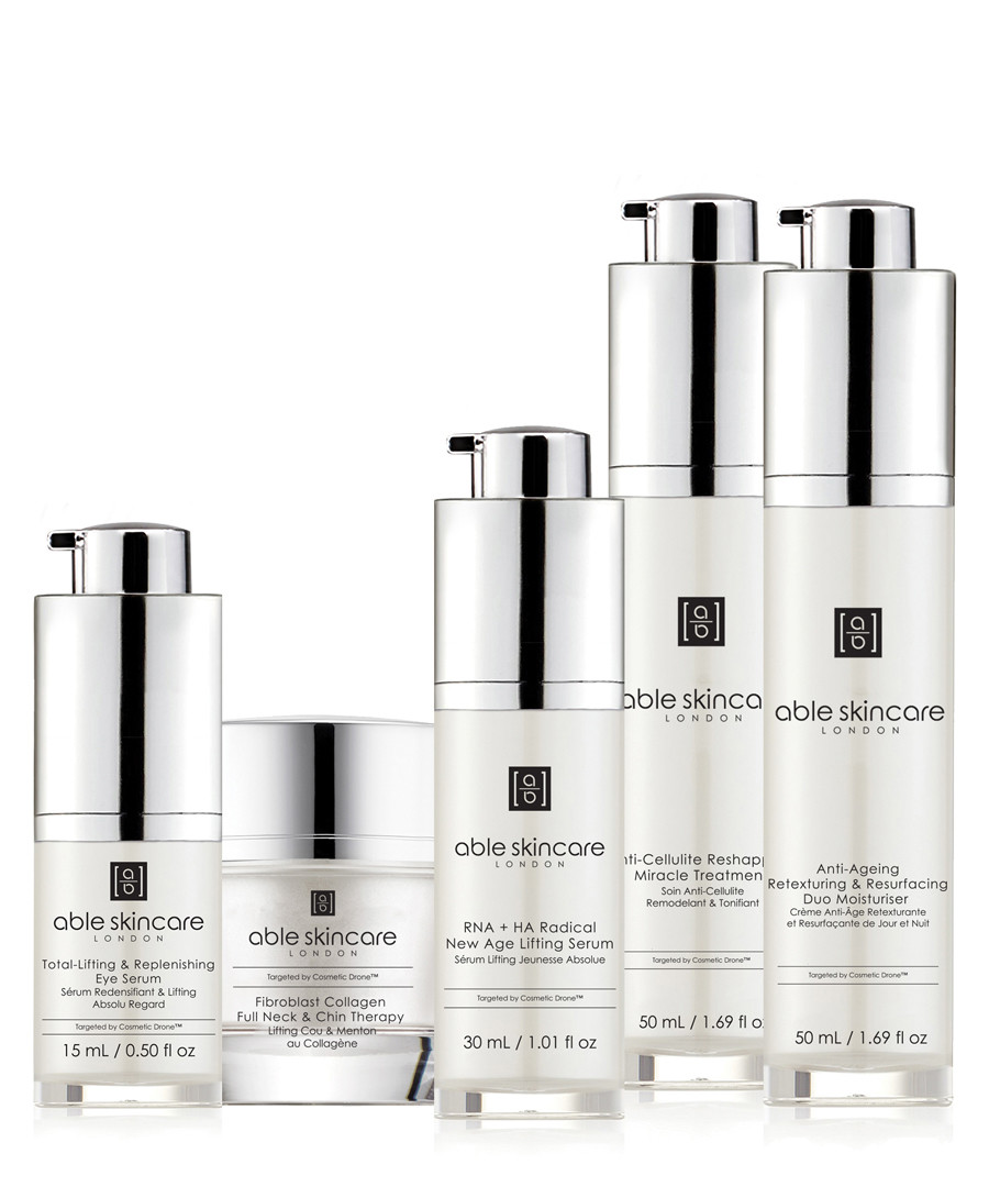 5pc Full Cosmetic drone discovery set Sale - able skincare