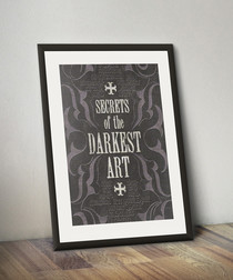 Secrets of the Darkest Art framed print