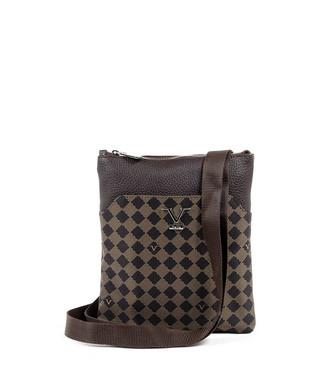 1336fd000f5e Brown   tan monogram messenger bag Sale - VERSACE 1969 ABBIGLIAMENTO  SPORTIVO SRL MILANO ITALIA Sale
