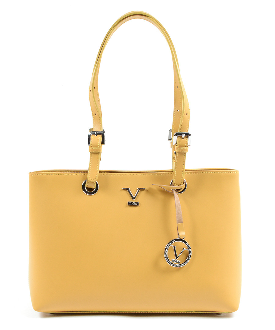 Yellow leather shoulder bag Sale - V ITALIA BY VERSACE 1969 ABBIGLIAMENTO SPORTIVO SRL MILANO ITALIA