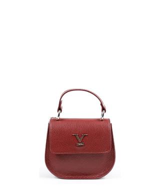 dadf52eb0c42 Red leather textured cross body bag Sale - V ITALIA BY VERSACE 1969  ABBIGLIAMENTO SPORTIVO SRL