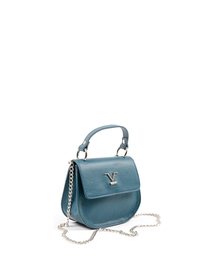 951a852c2c7a ... Turquoise leather textured cross body Sale - versace 1969 abbigliamento  sportivo ...
